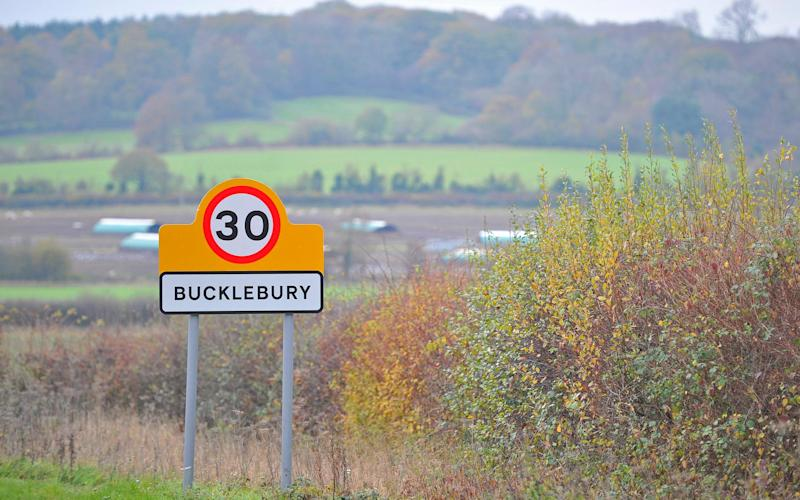 The incident happened on a road near Bucklebury, Berkshire - TOBY MELVILLE/REUTERS