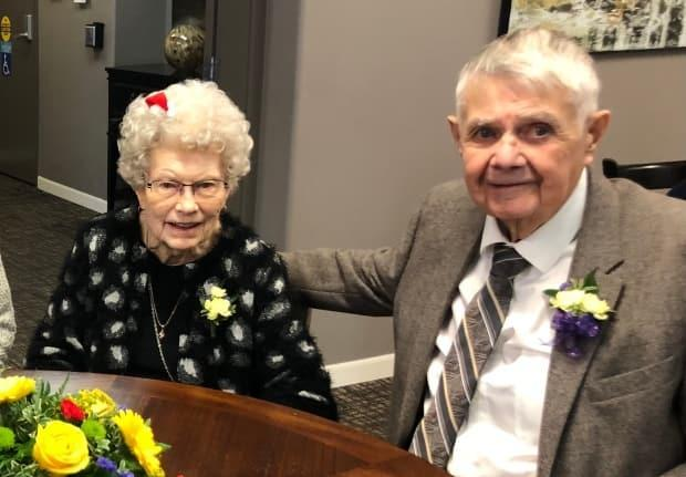 Alex Miles and his wife Irene used to live together until she needed more care and had to be moved to a long-term care facility in Weyburn, Sask.