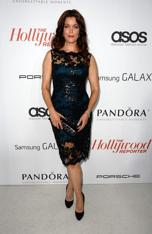 WEST HOLLYWOOD, CA - SEPTEMBER 19: Actress Bellamy Young arrives at The Hollywood Reporter's Emmy Party at Soho House on September 19, 2013 in West Hollywood, California. (Photo by Frazer Harrison/Getty Images)