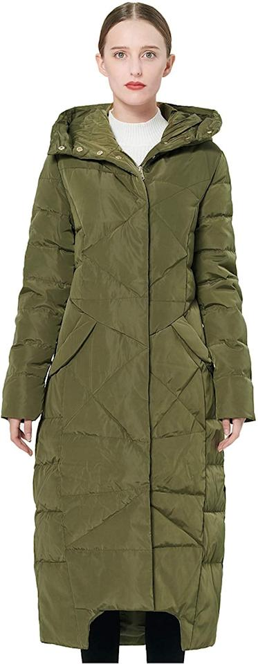 """<p>This <a href=""""https://www.popsugar.com/buy/Orolay-Women-Puffer-Down-Coat-544229?p_name=Orolay%20Women%27s%20Puffer%20Down%20Coat&retailer=amazon.com&pid=544229&price=120&evar1=fab%3Aus&evar9=47156945&evar98=https%3A%2F%2Fwww.popsugar.com%2Fphoto-gallery%2F47156945%2Fimage%2F47156950%2FOrolay-Women-Puffer-Down-Coat&list1=shopping%2Camazon%2Ccoat%2Cwinter%20fashion&prop13=api&pdata=1"""" rel=""""nofollow"""" data-shoppable-link=""""1"""" target=""""_blank"""" class=""""ga-track"""" data-ga-category=""""Related"""" data-ga-label=""""https://www.amazon.com/Orolay-Womens-Puffer-Winter-Jacket/dp/B074XBQQH8/ref=as_li_ss_tl?creativeASIN=B074WX245Q&amp;imprToken=BmcyfY7lbHftx.FOkWbGEQ&amp;slotNum=1&amp;ie=UTF8&amp;linkCode=w61&amp;tag=poamzforolaymaxicoatawarner120-20&amp;linkId=277bf6b5c8dc26dfdf548597992555a9&amp;language=en_US&amp;th=1"""" data-ga-action=""""In-Line Links"""">Orolay Women's Puffer Down Coat</a> ($120) brings a little color to cold days.</p>"""