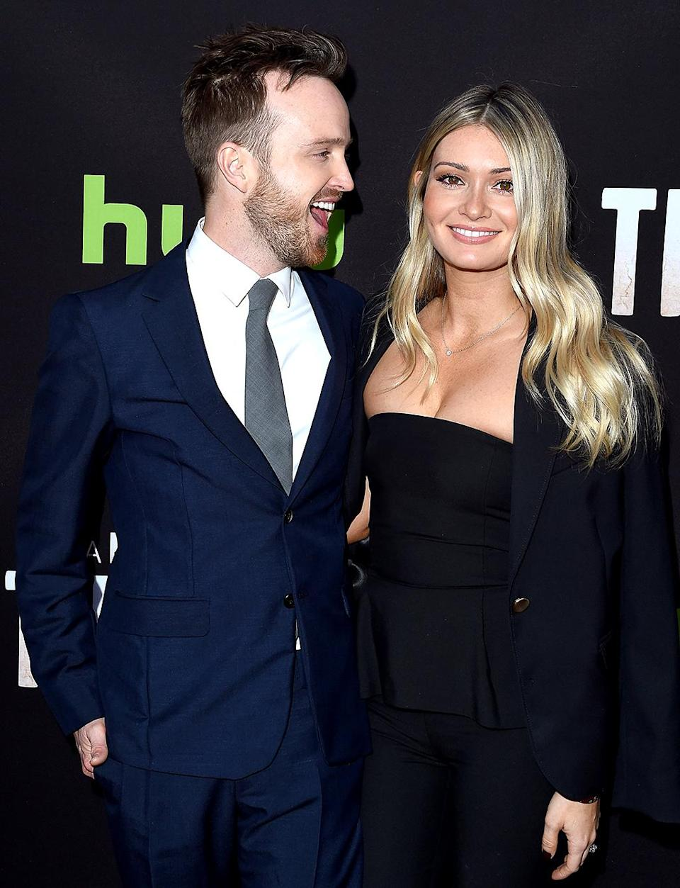"""<p>They came for the music and left in love! The <i>Path</i> actor met his future bride, the co-founder of Kind Campaign, at the Coachella Music Festival and told her that night that he planned to marry her. One year later, again at the fest, they shared their first kiss on the Ferris wheel. The oh-so-adorable pair have been married since 2013 and are now <a rel=""""nofollow noopener"""" href=""""https://www.instagram.com/p/BNyFSRFg68k/?taken-by=laurenpaul8&hl=en"""" target=""""_blank"""" data-ylk=""""slk:talking babies"""" class=""""link rapid-noclick-resp"""">talking babies</a>. (Photo: Axelle/Bauer-Griffin/FilmMagic) </p>"""