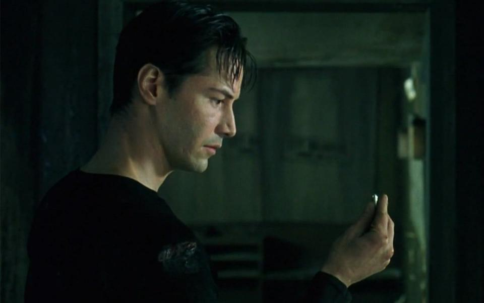 Keanu Reeves plays Neo in The Matrix - but it's a role that could've gone elsewhere (WarnerBros)