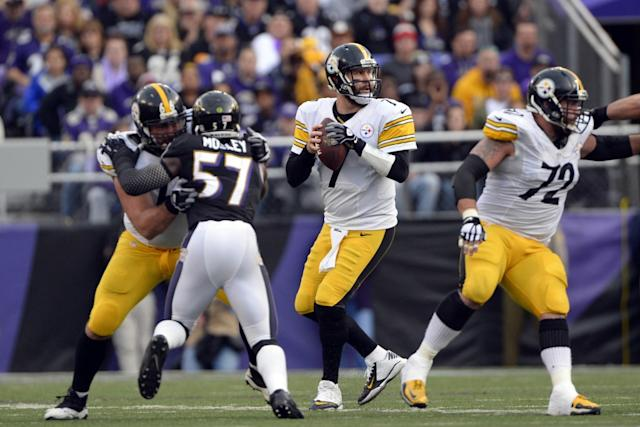 1c4bda8ed Report  Steelers expect Roethlisberger to play against Ravens