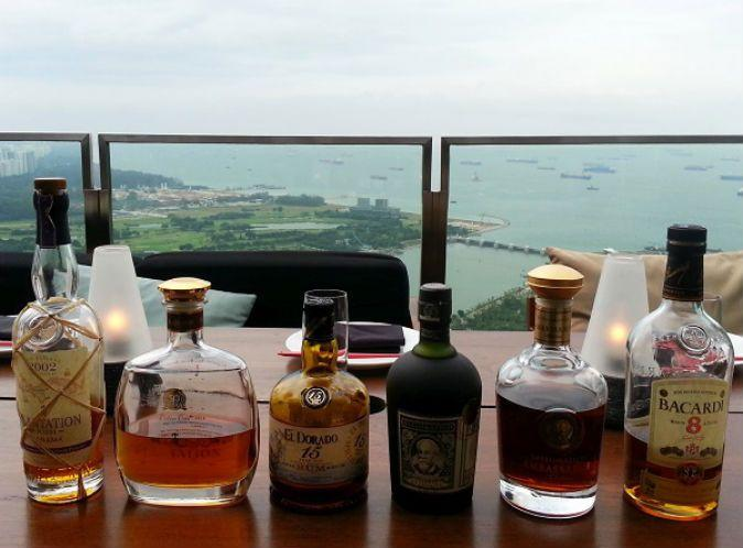 Singapore Bars And Restaurants With Alcohol Tasting Flights