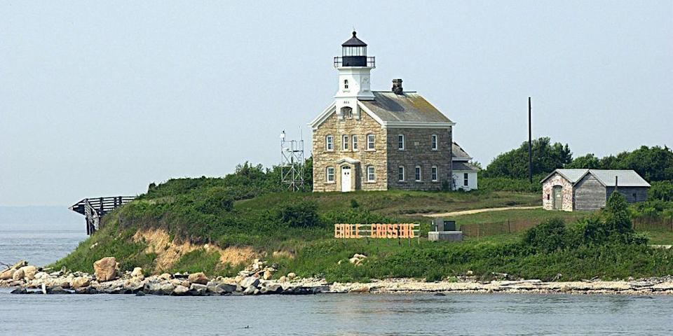 <p>Built in 1898 on Plum Island off the coast of New York, Fort Terry was used as defense during the Spanish-American War. The site was also active during both world wars. Once the protection was deemed unnecessary, the fort, in 1969, transformed into the Plum Island Animal Disease Center.</p>