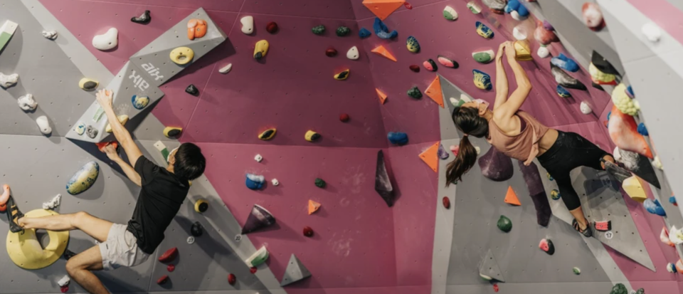 PHOTO: Klook. Indoor Bouldering Gym by Boulder Movement in Downtown and Tai Seng