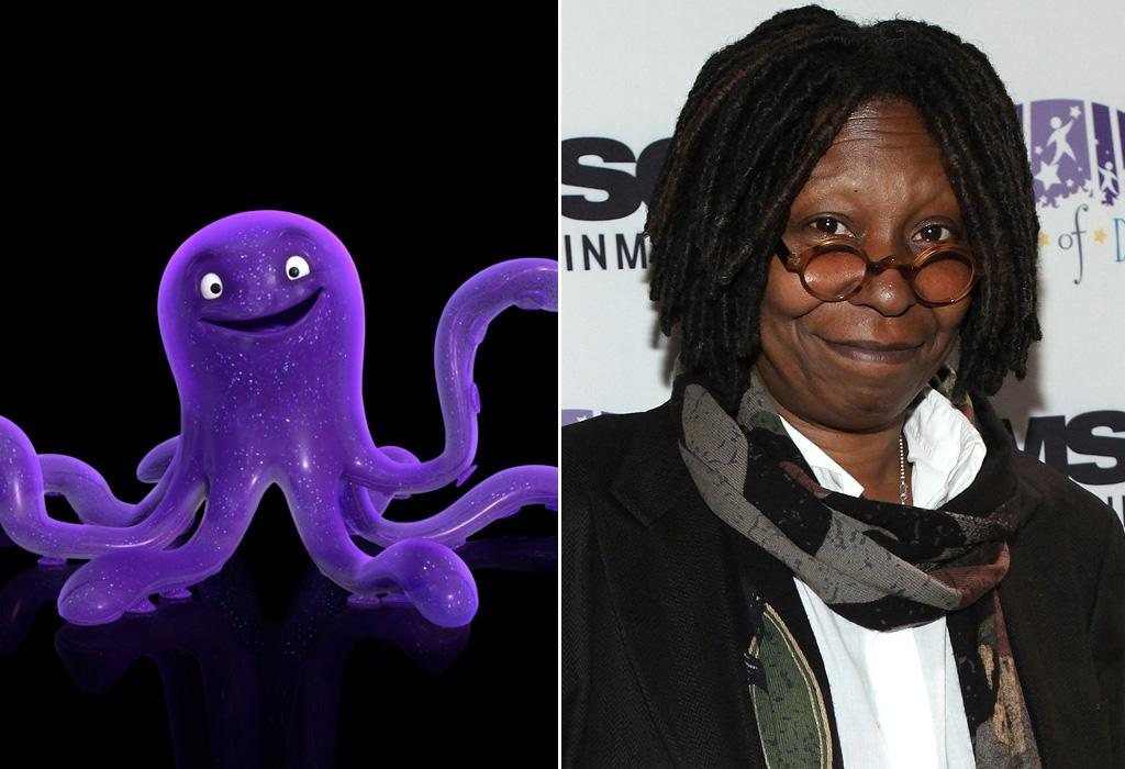 "STRETCH/<a href=""http://movies.yahoo.com/movie/contributor/1800019522"">WHOOPI GOLDBERG</a>  Whoopie Goldberg has done a lot of voice acting over the years, from ""Monkey Bone"" to ""Snow Buddies,"" but this is first time she played a toy cephalopod for the silver screen."