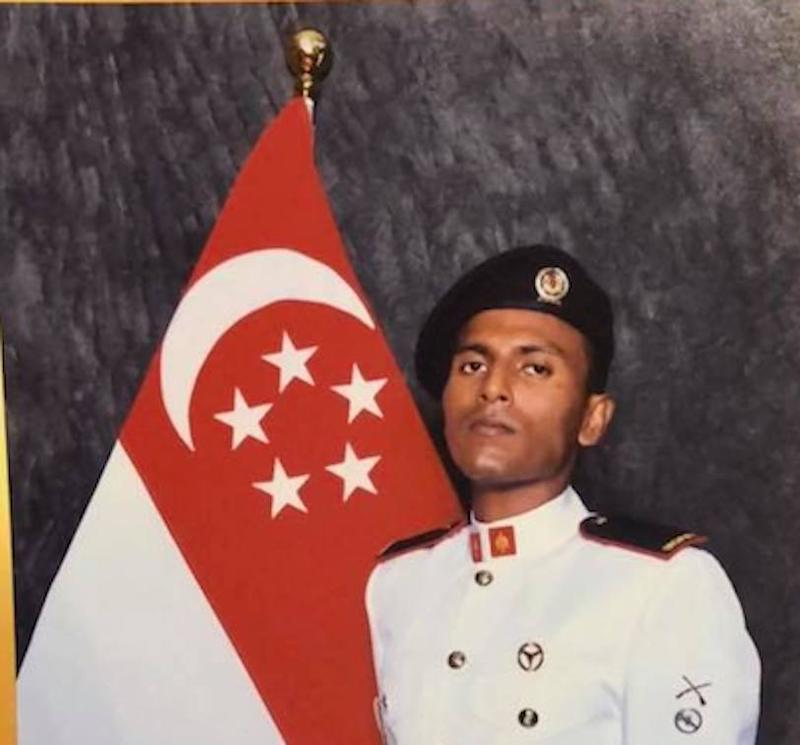 Thirumal Pavithran, 25, pleaded guilty to four charges of remaining outside Singapore without an exit permit under the Enlistment Act. (Photo: Facebook/Pavithran Thirumal)
