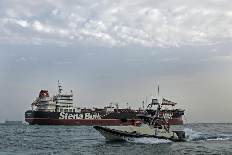 Iran's Revolutionary Guards surrounded the Stena Impero with attack boats and seized it in the Strait of Hormuz in July