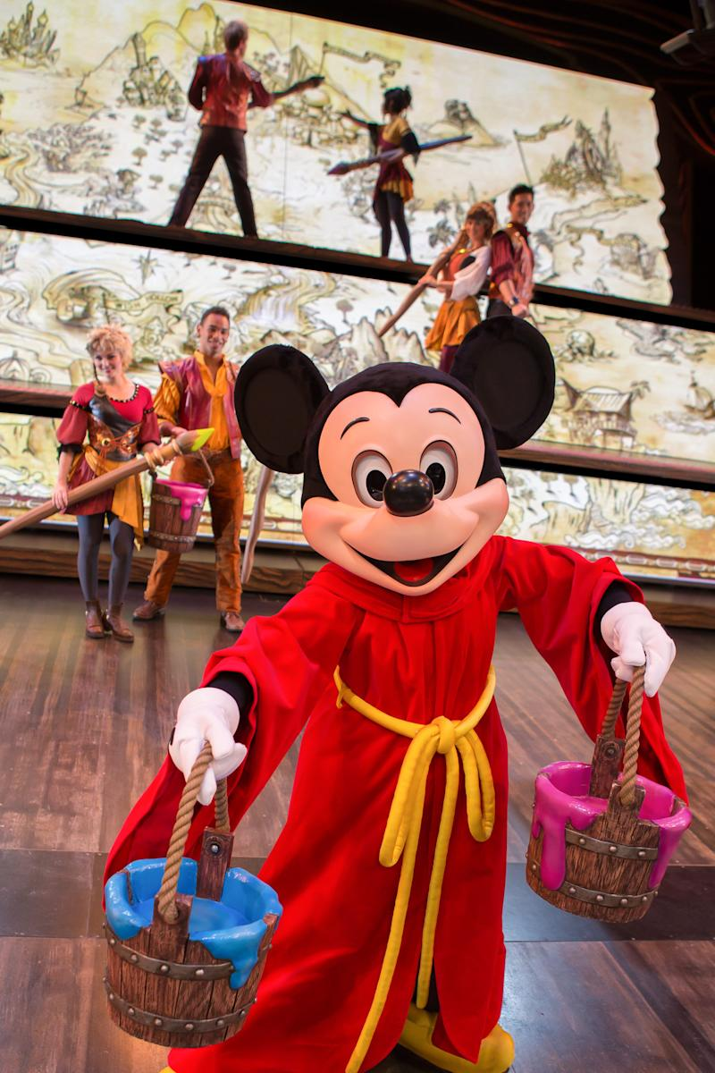Mickey returns to Fantasyland in high-tech show