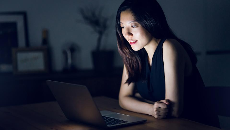 Make sure you have good enough lighting on your virtual date so your date can see your face properly (Getty Images)