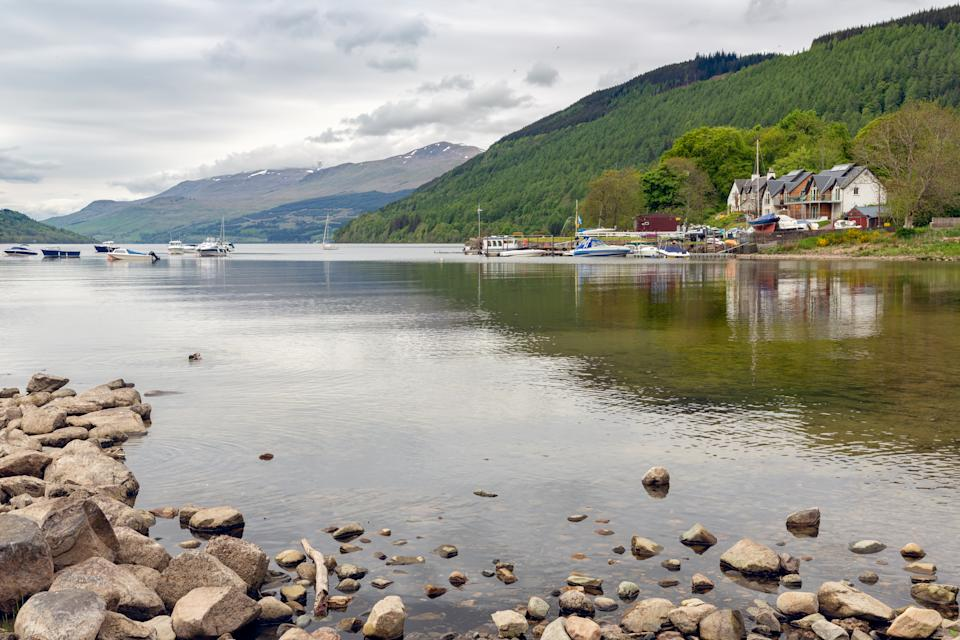 The Old Village of Lawers lies on the North Shore of Loch Tay (pictured) (Getty Images)