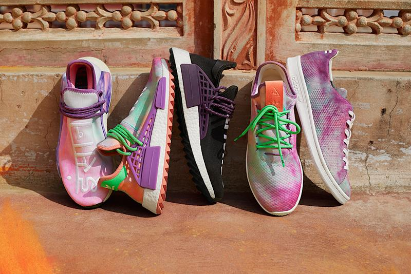 dd353490ed02a Adidas Responds to Cultural-Appropriation Backlash to Pharrell s Hindu  Festival-Inspired  Holi  Line