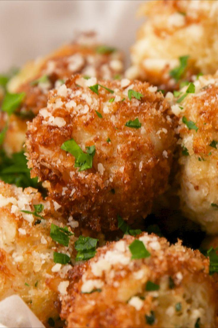 "<p>Mini crab cakes that you won't be able to stop eating.</p><p>Get the recipe from <a href=""https://www.delish.com/cooking/recipe-ideas/recipes/a57568/crab-cake-poppers-recipe/"" rel=""nofollow noopener"" target=""_blank"" data-ylk=""slk:Delish"" class=""link rapid-noclick-resp"">Delish</a>. </p>"
