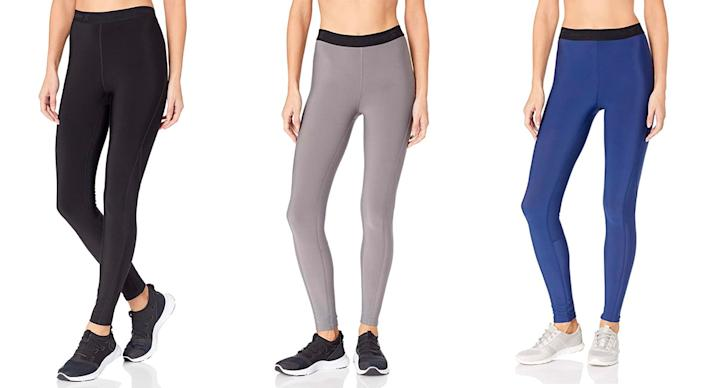 """Starter Women's 27"""" Therma-Star Brushed Compression Leggings (Photo: Amazon)"""