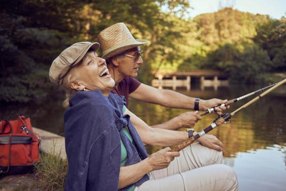 Couples who fish together... (Getty Images)