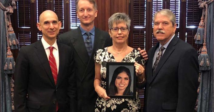 Alison Steele was able to get the CLEAR Alert Bill passed. Now in the state of Texas when someone between the ages of 18-64 goes missing, an emergency text will go out to the community. Steele wants