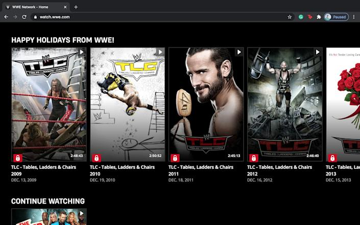 How much is WWE Network 3