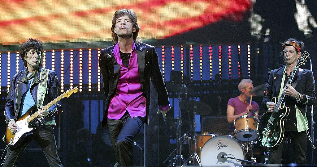 "In the mid-'60s, The Rolling Stones followed The Beatles in taking the U.S. by storm. Their hit songs like ""I Can't Get No (Satisfaction)"" are still rock 'n' roll staples, and lead singer Mick <br>Jagger is so iconic that he even inspired Maroon 5 and Christina Aguilera's inescapable 2011 hit song ""Moves Like Jagger."" In the '70s, British bands would keep the rock coming as acts like Pink Floyd, the Sex Pistols, and Led Zeppelin all peaked."