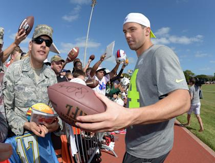 Jordan Cameron, doing Pro Bowl things. You want this guy, gamers. (Kirby Lee-USA TODAY Sports)