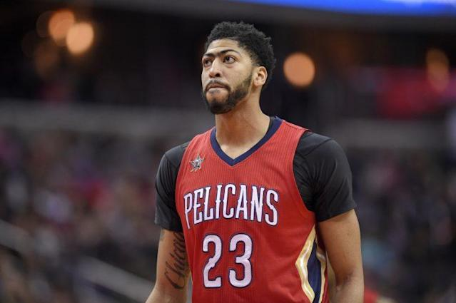 Anthony Davis is a four-time All-Star. (AP)