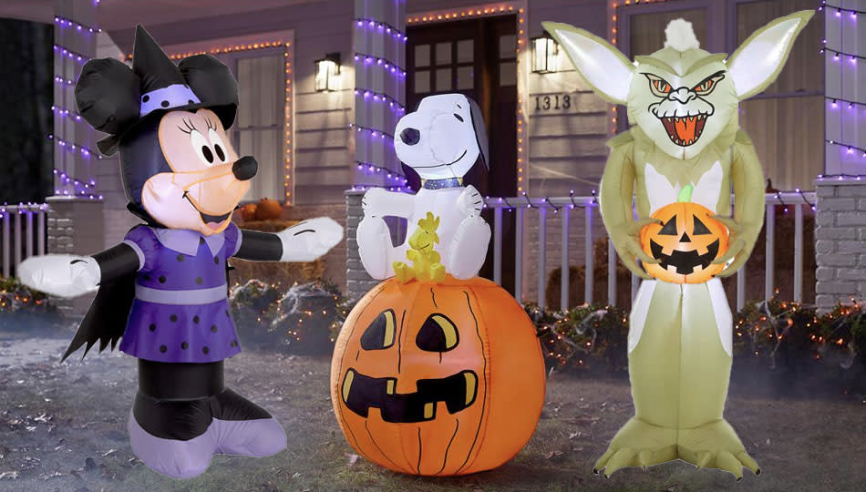 Nostalgia time! Decorate your lawn with these inflatable Home Depot Halloween decorations. (Photo: The Home Depot)