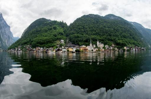 The picturesque village of Hallstatt in Austria had until the coronavirus outbreak been overwhelmed by tourists