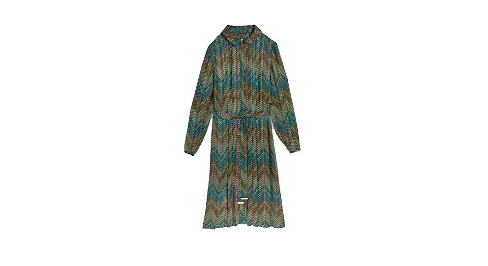 Saphy Cardamon shirt dress