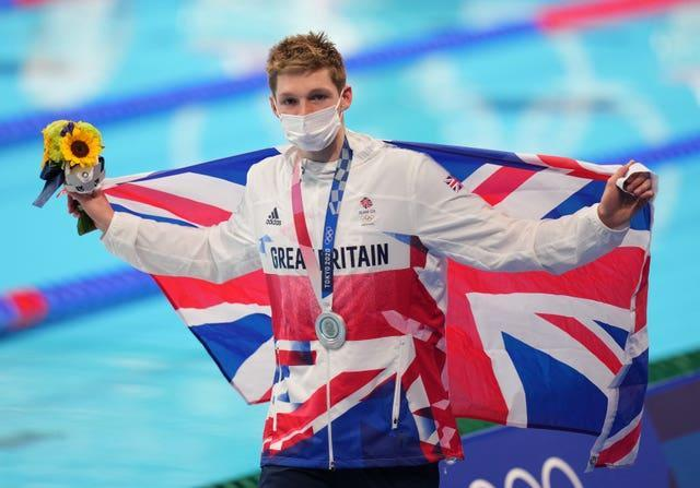 Duncan Scott took some pride in collecting his third medal of Tokyo 2020 on Friday (Joe Giddens/PA)