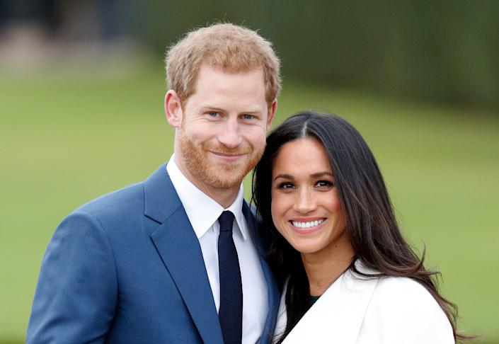 The Duke and Duchess of Sussex revealed in March that they are expecting a baby girl. (Photo: Max Mumby/Indigo via Getty Images)