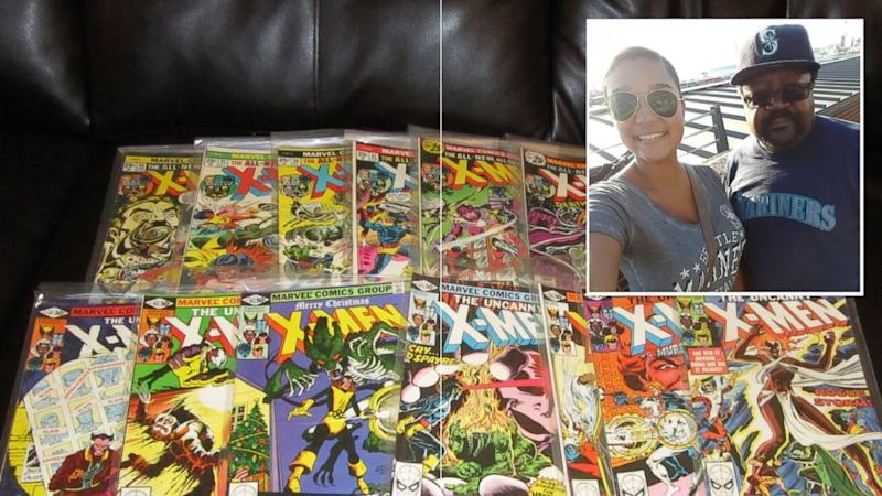 Superhero Dad Selling 5,000 Classic Comic Books for Daughter's College Tuition (ABC News)