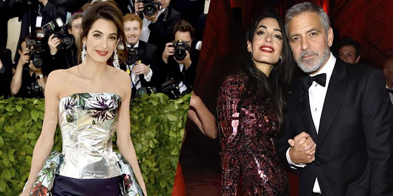 Amal Clooney Changed Outfits Inside The Met Gala