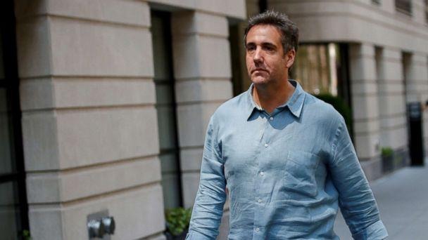 PHOTO: Michael Cohen exits his hotel in New York City, July 2, 2018. (Brendan McDermid/Reuters)