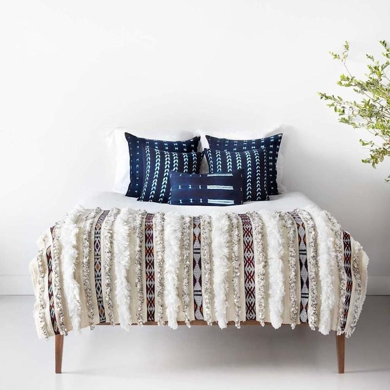 "Get them <a href=""https://the-citizenry.myshopify.com/products/bakoy-indigo-throw-pillows"" target=""_blank"">here</a>."