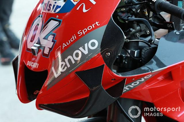 "Moto de Andrea Dovizioso, Ducati Team <span class=""copyright"">Gold and Goose / Motorsport Images</span>"