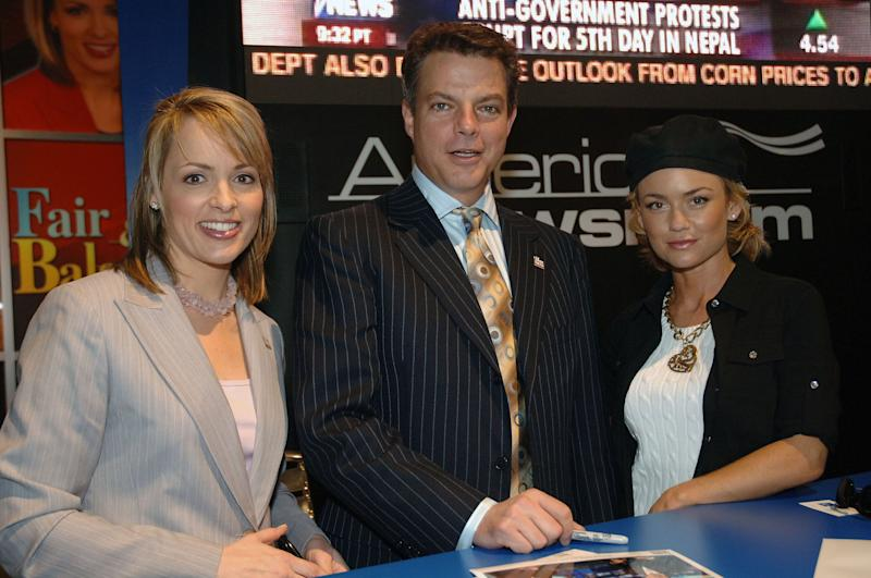 Jane Skinner and Shepard Smith (Photo by Moses Robinson/WireImage for Fox Television Network)