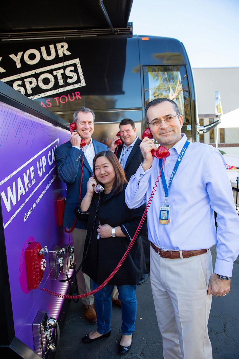 Cubic Hosts Unconscious Bias Bus Tour to Raise Awareness on Importance of Diversity and Inclusion
