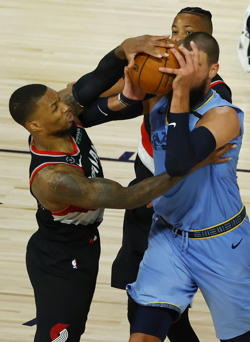 Grizzlies Trail Blazers Basketball
