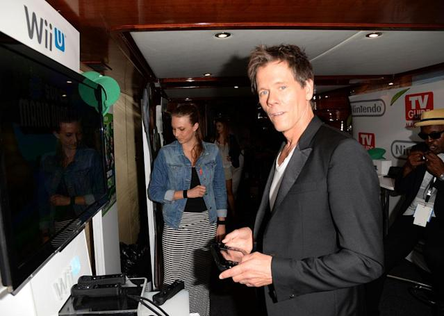 Kevin Bacon attends the Nintendo Oasis on the TV Guide Magazine Yacht at Comic-Con day 2 on July 19, 2013 in San Diego, California.