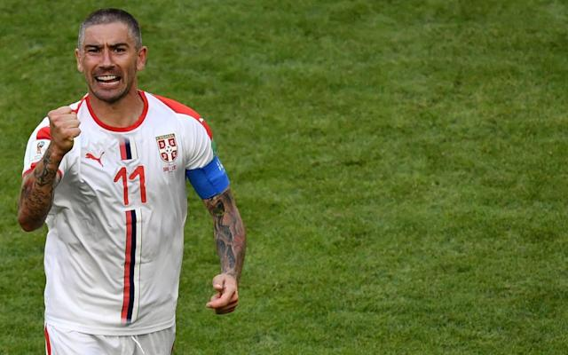 "Aleksandar Kolarov produced a ­moment of captain's inspiration, curling home a superb free-kick as Serbia got their Group E campaign up and running on Sunday. The former Manchester City full-back had appeared to be injured in the warm-up but recovered to curl in the winner against Costa Rica. Serbia had dominated the match but chances were at a premium until Kolarov made the breakthrough in the 56th minute. With Brazil heavy favourites to win the group, which also features Switzerland, the victory delivered a potentially vital three points for Serbia and lifted a weight from coach Mladen Krstajic, in what was his first competitive game. ""There was a great deal of pressure on the team, and on me, over the past seven months,"" said Krstajic, who took the job in October. Krstajic's relief was matched in equal measure by the disappointment of Oscar Ramirez, the Costa Rica manager, whose side are now in a precarious position. ""Maybe we have lost a certain margin for qualifying,"" he said. ""It's going to be difficult, but our intention remains the same. I told the lads 'This isn't over'."" Aleksandar Kolarov struck a wonderful free-kick to win all three points for Serbia Credit: REUTERS If Costa Rica are going to recover, they will need to rediscover the defensive organisation and clinical counter-attacks that propelled them to the quarter-finals four years ago. Serbia found it hard to break them down, but they rarely looked troubled at the back and, barring a late half-chance for substitute Joel Campbell, they coasted through the game. The match began in furious ­fashion, with Serbia's Aleksandar Mitrovic having a header scooped off the line and Costa Rica's Giancarlo Gonzalez failing to convert two headed chances. But it soon settled into a more predictable pattern. Serbia bossed the ball as their ­enterprising midfield, fusing the ­experience of Manchester United enforcer Nemanja Matic and the raw talent of Sergej Milinkovic-Savic, got on top. Mitrovic failed to find the net with a good chance early in the second half, but it mattered little when Kolarov, the AS Roma left-back, produced his moment of magic, curling a free kick, left-footed, over the wall and past the despairing dive of Navas. ""It is great to have three points, but we are not finished. I don't want to do the maths yet,"" Kolarov said. Match details Costa Rica (3-4-3): Navas (Real Madrid) 7; Gamboa (Celtic) 6, Acosta (Rionegro Aguilas) 6, Gonzalez (Bologna) 6; Duarte (Espanyol) 6, Calvo (Minnesota) 7, Venegas (Saprissa) 6, Guzman (Portland) 6; Borges (Coruna) 6, Ruiz (Sporting Lisbon) 6, Urena (Los Angeles) 5. Subs: Campbell (Arsenal) for Urena 73, Bolanos (Saprissa) for Venegas 60, Colindres (Saprissa) for Guzman 73. Booked: Guzman, Calvo. Serbia (4-2-3-1): Stojkovic (Partizan) 6; Ivanovic (Zenit) 6, Tosic (Besiktas) 6, Milenkovic (Fiorentina) 6, Kolarov (Roma) 7; Milinkovic-Savic (Lazio) 8, Milivojevic (Crystal Palace) 6; Matic (Man Utd) 6, Ljajic (Torino) 7, Tadic (Southampton) 6; Mitrovic (Newcastle) 6. Subs: Kostic (Hamburg) for Ljajic 70, Rukavina (Villarreal) for Tadic 83, Prijovic (PAOK) for Mitrovic 90. Booked: Prijovic. Referee: Malang Diedhiou (Senegal). 3:08PM Some full-time stats for you After losing five consecutive World Cup games between 1998 and 2010, Serbia have since won two of their last three in the competition (L1). Serbia have won their opening game at a World Cup tournament for the first time since 1998, when they did so as Yugoslavia against Iran (1-0). Serbia have now won all four of their World Cup games against teams from the CONCACAF region, with the first three of those coming as Yugoslavia between 1950 and 1998. Costa Rica suffered their first defeat at the World Cup since 2006 (1-2 v Poland), ending a run of five games unbeaten in the competition (W2 D3). And my favourite of all: Aleksandar Kolarov's goal for Serbia was the third direct free-kick scored at this year's World Cup (after Russia's Aleksandr Golovin and Portugal's Cristiano Ronaldo), which is already as many as there were in the entire 2014 tournament in Brazil. 3:05PM Next up It's Germany vs Mexico! Join Alan Tyers in our World Cup liveblog as he brings you the team news, updates and analysis from the match. 3:05PM The referee separating the players Credit: GETTY IMAGES This is that little rammy towards the end when Matic went nuts. It looks like the Costa Rica nine, Colindres, puts a full on slap on a Serbia player. Could be a red card, might not. I'd argue that the players are just getting fired up late on - if it had been earlier in the game then it would have been in the ref's interests to sort things out further. 3:02PM Who stood out there then? Let's do some player ratings. Costa Rica (3-4-3 / 5-4-1) Navas 7, Gamboa 6, Acosta 6, González 6, Duarte 6, Calvo 7, Venegas 6, Guzmán 6, Borges 6, Ruiz 6, Ureña 5 Serbia (4-2-3-1 / 4-4-2) Stojkovic 6, Ivanovic 6, Tosic 6, Milenkovic 6, Kolarov 7, Milinkovic-Savic 8, Milivojevic 6, Matic 6, Ljajic 6, Tadic 7, Mitrovic 5 2:58PM Analysis Average touch positions (full time) A game of one half. Specifically the right for Serbia and left for Costa Rica. Passes kept going down the one side of the pitch. Possession: Costa Rica vs Serbia 2:55PM FULL TIME Credit: AFP And that's it! Serbia get a deserved win against a spirited Costa Rica. Kolarov's free-kick was a thing of wonder and has won the points. 2:54PM 90 mins +7 - Costa Rica 0 Serbia 1 More controversy here. Prijovic has caught someone off the ball with his forearm and Acosta throws himself to the floor. Is this a red card? The VAR is in use! Aaaaand it's a yellow card. Another good decision (IMO). 2:52PM 90 mins +5 - Costa Rica 0 Serbia 1 VAR time! The referee is reviewing that decision! He wants to see if Matic should be in more trouble... but the VAR says no. Seems fair. Costa Rica keep coming... the ball is hooked in, headed down IT'S A CHANCE FOR BOLANOS! And he's missed from six yards! Thankfully, the linesman calls offside and he is miles ahead of the last man. What a miss though. Dreadful finish. 2:50PM 90 mins +4 mins - Costa Rica 0 Serbia 1 That's poor from the substitute Rukavina. He loses possession then doesn't try to win it back but now Serbia are on the counter-attack, with men over! And the ball's been lost. And now Matic is involved with the bench! He's getting all fired up needlessly with the Costa Rica staff. 2:49PM 90 mins +3 - Costa Rica 0 Serbia 1 Costa Rica have a free-kick 40 yards out, hit it in the area and it;s headed away. Gamboa goes for a distance wondergoal but his long range effort is saved by the goalkeeper easily. 2:47PM 90 mins +1 - Costa Rica 0 Serbia 1 M-Savic has had a superb game. His timing of pass and movement off the ball is excellent. Serbia take Mitrovic off for Prijovic. Serbia come forward again - they have men over! Kostic spots the chance to shoot but blasts over the bar. So many players have been jumping their shots miles over. Practise required. Miss: Costa Rica 0 - 1 Serbia (Filip Kostic, 90 min) 2:45PM 89 mins - Costa Rica 0 Serbia 1 MITROVIC IS IN AGAIN! And he's wasted the chance again! Oh my word. He's so very nearly a great player - gets in the right positions, is strong but his finishing isn't all that. And here he gets into the box, slows down to wait for the ball to roll ahead of his body and the Costa Rica defender goes down. Mitrovic goes down too but I suspect that's more a problem of balance than an actual foul. No VAR for this incident. 2:43PM 87 mins - Costa Rica 0 Serbia 1 Stojkovic gets someone to help him tie his shoelaces. Cunning time-wasting tactic? Or cruel window into a life spent never learning to tie shoelaces? Only he really knows. 2:41PM 85 mins - Costa Rica 0 Serbia 1 Costa Rica are now focusing most of their play down the right, targeting Kolarov. Nothing's coming off at the moment now, they're running out of ideas. 2:39PM 82 mins - Costa Rica 0 Serbia 1 Campbell's been lively since coming on but you can kind of tell he's not played much recently. A half yard off the pace on the ball has given Serbia defenders opportunity to rob him of possession. Rukavina comes on for Tadic, which is almost certainly to give Ivanovic back-up at right-back. It might mean a 5-4-1 for Serbia. 2:36PM 80 mins - Costa Rica 0 Serbia 1 Campbell tries to work space for a shot on the edge of the area but is blocked. M-Savic pulls off another beautiful bit of skill to take the ball round the outside of a midfielder and puts Serbia on the attack. They're starting to look a little tired now... 2:35PM 78 mins - Costa Rica 0 Serbia 1 Credit: TASS Ooooh that should be 2-0. Tadic gets in behind on the right and squares the pass into the six yard box. Navas dives at it, gets a tiny flick on it and Kostic has a side foot to finish in an empty net. He gets it all wrong though and the net is unharmed. 2:32PM 76 mins - Costa Rica 0 Serbia 1 Colindres comes on for Guzman, which means Costa Rica have used all their substitutions up. Serbia fire some passes together and link well. M-Savic has the chance to shoot 25 yards out, takes the chance but balloons his effort way over the bar. 2:30PM 74 mins - Costa Rica 0 Serbia 1 Campbell is in behind! There's a lucky deflection and Campbell gets ahead of Milenkovic but just isn't sharp enough to beat him to the ball and get a shot away. Corner. The goalie comes to get the cross but is nowhere near it. Like someone's thrown a scarecrow into the air at the ball. Serbia survive and Mitrovic shields the ball high up the pitch. 2:29PM 72 mins - Costa Rica 0 Serbia 1 Costa Rica free-kick wide left... Campbell takes it and a Serbian head puts it clear. Kostic tries to break but the ball goes out of play, Serbia go back to their 4-4-1-1 shape and get behind the ball. 2:27PM 70 mins - Costa Rica 0 Serbia 1 Campbell goes on a little dribble into the box but Ljajic puts in a great tackle and wins the ball. Costa Rica in a clear 3-4-3 now and making much snappier passes. Now Serbia are taking their turn to defend with blocks of four. Ljajic comes off for Kostic. 2:24PM 68 mins - Costa Rica 0 Serbia 1 Here comes Joel Campbell! Urena heads off. Look at the difference in possession now! Possession: Costa Rica vs Serbia 2:22PM 66 mins - Costa Rica 0 Serbia 1 Credit: GETTY IMAGES What a photo that is! The ball smashing into the back of the net from Kolarov's free-kick. Serbia have dropped really deep now they're 1-0 up... I wonder whether the best form of defence might actually be attacking Costa Rica more. They're inviting trouble like this. 2:20PM 64 mins - Costa Rica 0 Serbia 1 1 - Kolarov has been the first Serbian player to score from direct free kick at the WC since Sinisa Mihajlovic v Iran on 14 June 1998 (including Yugoslavia). Southpaw. pic.twitter.com/yLePjJ0cmn— OptaJose (@OptaJose) June 17, 2018 Costa Rica taking the game to Serbia now and Serbia are dropping further and further back. 2:18PM 62 mins - Costa Rica 0 Serbia 1 Costa Rica have a free-kick in the final third but Serbia defend deep and head away. Costa Rica trying to get back into the game straight away. You're at your most vulnerable just after scoring goes the old saying. 2:16PM 60 mins - Costa Rica 0 Serbia 1 Serbia have the momentum now. Ljajic makes a run ahead of the defence and just can't get on the end of a chipped pass from Tadic. Will Costa Rica come out of their defensive shell now? 2:13PM GOOOOOOOOOOOAAAAAAAAAAALLLLLLLLL! WHAT A HIT! KOLAVOC HAS SCORED! Costa Rica 0 - 1 Serbia (Aleksandar Kolarov, 56 min) Navas had absolutely no chance! It's a perfect free-kick, curled over the wall with power into the top corner. Goal: Serbia ( 56 min ) Unstoppable. 2:13PM 56 mins - Costa Rica 0 Serbia 0 Serbia win another free-kick in a dangerous area. Kolarov can shoot from here and seems to be lining one up. 2:12PM 55 mins - Costa Rica 0 Serbia 0 Mitrovic gets a head on the ball as Duarte grabs hold of him in full view of the referee. Consistency in refereeing? There's not an awful lot of difference between that incident and the one yesterday that resulted in a penalty for Argentina. 2:11PM 54 mins - Costa Rica 0 Serbia 0 Serbia enjoying more of the ball here. Kolarov curls a cross to the box and wins a corner as Calvo heads away at the back post. The referee has to sort out some pushing and pulling in the area. 2:09PM 52 mins - Costa Rica 0 Serbia 0 Serbia are stretching the pitch and attacking through the middle more now. Although another cross from wide is collected from Navas. 2:08PM 50 mins - Costa Rica 0 Serbia 0 HUGE MISS! Mitrovic breaks the offside trap, is one on one with Navas and his shot is terrible. Navas saves well but Mitrovic has to score there. What a massive moment that could prove to be. 2:07PM 49 mins - Costa Rica 0 Serbia 0 Costa Rica are on the right (light blue), Serbia the left (dark blue). 2:03PM 47 mins - Costa Rica 0 Serbia 0 Tadic comes back to help out Ivanovic early on as Bryan Ruiz skins him on the left wing. No change of tactic here then. 2:02PM KICK-OFF 2 - Costa Rica 0 Serbia 0 Costa Rica start the second half. We're back! 2:00PM Next up World Cup 2018 tactics: Why Germany's goalkeeper is key to how they attack Don't forget that after this game is Germany vs Mexico! You can join Alan Tyers in our liveblog coverage of that once this match is over. And not a moment sooner! Don't leave me. Please. 1:57PM Serbia's strikers Check the starting position of Milinkovic-Savic in possession. He's a central striker! Patrice Evra on him being linked with Man Utd: ""You need to be a character, a personality. I'm afraid now you miss players playing for the passion. If you said 20 years ago Patrice you play for Manchester United and you don't even get paid, you do it."" Doesn't really answer the question but I think I know what I mean. At least he hasn't literally applauded Aluko's football knowledge with this answer. 1:49PM Serbia's very attacking average positions That's a 2-4-4! Love it. Average touch positions (42 min) Look at the near-comical focus on one particular side of the pitch. Poor Ivanovic, he'll be knackered at the end of this. 1:47PM HALF TIME - Costa Rica 0 Serbia 0 Thoroughly entertaining stuff there. Costa Rica targeting Ivanovic down the left and relying on quick counter-attacks, while Serbia have done well without really taking advantage of all their possession. Where there's Mitrovic there's a chance and Milinkovic-Savic has turned up in dangerous areas too. I can see a goal or two in the second half. 1:46PM 45 mins +1 mins - Costa Rica 0 Serbia 0 Borges should be booked for pulling Ljajic back just as he was about to get Serbia moving in the Costa Rica half... but Mitrovic is penalised for a tiny nudge on the back of Gonzalez. 1:44PM 44 mins - Costa Rica 0 Serbia 0 MILINKOVIC-SAVIC BICYLE KICK! Saved by Navas! Wow. That would have been something else! Ivanovic chips into the box, the Lazio man goes for the spectacular, the linesman says he's offside. He isn't, so that goal would have counted if it had gone in. 1:42PM 42 mins - Costa Rica 0 Serbia 0 Costa Rica are enjoying the ball for a while. They've been on the back foot for quite a lot of the game so far, though this possession stat feels like it's way off. Possession: Costa Rica vs Serbia Calvo cuts inside from the left once more and tries a shot on his right foot... but drags it wide of the near post. Out: Costa Rica 0 - 0 Serbia (Francisco Calvo, 42 min) 1:40PM 40 mins - Costa Rica 0 Serbia 0 Ohhhh there's a slip in the Serbia defence by Tosic and it's given Costa Rica a chance to shoot. Urena takes it... but that's miles away. Calvo then wins a corner off Ivanovic, who isn't being given any peace. 1:37PM 38 mins - Costa Rica 0 Serbia 0 Both players appear OK to continue after a pause in play. What a collision that was though. Like a train battering into... another train. Or a Costa Rica defender. Anyway, they're alright. 1:35PM 36 mins - Costa Rica 0 Serbia 0 Tadic wins a free-kick right in the corner. The big lads come up for the set piece, which Kolarov will whip in as in in-swinger. Navas Superman throws himself at it and punches away and then Tosic batters into Acosta while going for a header and both are in a lot of pain. 1:34PM 34 mins - Costa Rica 0 Serbia 0 Ivanovic over-hits an early cross from wide right and puts it out for a goal kick. Costa Rica have been impressive with how they stop Serbia's build-up play. By blocking the passing option, Serbia don't really have anywhere to go other than long but are trying to keep the ball in defence until an opportunity to get forward opens up. 1:30PM 31 mins - Costa Rica 0 Serbia 0 Costa Rica are blocking the Serbian passing lanes with three forwards and two midfielders behind them, and it's forcing the defenders to really think about where they move the ball so as not to concede possession in a dangerous counter-attacking area. Once the ball is past the halfway line Costa Rica are a 5-4-1... Serbia need another option. And there it is - the chipped pass to Mitrovic. 1:28PM 29 mins - Costa Rica 0 Serbia 0 Bit chance! Super run off the ball by Milinkovic-Savic but he doesn't get the ball out of his feet as a pass over the top puts him through on goal. A low shot is saved easily by Navas but the offside flag had one anyway. He gets away with that miss. 1:26PM 27 mins - Costa Rica 0 Serbia 0 Great take by Tadic. The pass is fired straight at him at pace and he controls and flicks the ball on to keep a move going. It just won't drop for Mitrovic in the area and his shot is blocked. 1:24PM 25 mins - Costa Rica 0 Serbia 0 Credit: AFP Serbia are focusing their attacks through the middle then moving play out to the right wing once in the final third. Costa Rica survive another decent move but Serbia are back in possession. You can see they're favouring that right wing here: Serbia crosses Calvo is the left wing-back and is on a yellow card now too. 1:22PM 23 mins - Costa Rica 0 Serbia 0 Costa Rica get in down the left again though and... that's a shocking tackle. He doesn't mean to go in as heavy as he does but Calvo is rightly booked for a late slide tackle near the corner on Tadic. That's the sort of challenge you put in for a laugh on Pro Evo. 1:21PM 21 mins - Costa Rica 0 Serbia 0 Serbia switch the play a couple of times but Costa Rica look organised and shift over to deny the space and win possession back. Serbia are getting Tadic deeper with Matic helping out on the right now to make sure Ivanovic isn't exposed. 1:19PM 19 mins - Costa Rica 0 Serbia 0 Serbia win a free-kick about 35 yards from goal and this will be aimed towards Mitrovic. The referee has to tell Guzman to stand further back from the kick but doesn't book him. The ball goes in, is headed at the back post... and Costa Rica manage to get it away then drop into their low block. 1:16PM 17 mins - Costa Rica 0 Serbia 0 Great save by Navas! Serbia have men over, Ivanovic overlaps down the right and dribbles past his man but Navas blocks the low cross into the area. Serbia might be in again! Tadic chips to the back post for Mitrovic but nobody is following up. Milinkovic-Savic has had a couple of lovely touches in the approach play to both those moves. 1:14PM 15 mins - Costa Rica 0 Serbia 0 Mitrovic receives the ball on the edge of the box, moves it onto his right foot and shoots but the effort is blocked and Navas catches. Costa Rica attack down the left wing again - they're targeting Ivanovic at right-back. Serbia look ropey at the back here. A dreadful pass forward has nearly gifted Costa Rica the chance to break with an overload but the centre-backs just about to manage to see out the danger. 1:12PM 13 mins - Costa Rica 0 Serbia 0 FREE HEADER! What a miss! Oh my word. A short corner, the second cross gives Gonzalez a completely free header. Dreadful defending from Serbia - what were they doing there? Total chaos in the second phase of that set piece and Costa Rica should be 1-0 up. Miss: Costa Rica 0 - 0 Serbia (Giancarlo González, 12 min) Gonzalez can't believe he's put that miles over the bar. 1:11PM 11 mins - Costa Rica 0 Serbia 0 Credit: GETTY IMAGES Costa Rica are looking to use their pace to take on the full-backs. Ivanovic and Kolarov aren't the young men they once were but still have a bit speed left in the legs - Costa Rica look like they might have the running of them though. Costa Rica win a corner. 1:09PM 9 mins - Costa Rica 0 Serbia 0 Costa Rica are quick and break with three forwards. It's not quite coming together for them in the final third for now but they've been able to run with the ball in Serbia's half a couple of times now. 1:07PM 7 mins - Costa Rica 0 Serbia 0 Credit: GETTY IMAGES Mitrovic is causing problems with his strength upfront and Serbia are looking for him with long throws and chipped passes. Serbia attack through the middle, the ball drops to Kolarov and he tries a shot from 30 yards but pings it wide of goal. 1:05PM 5 mins - Costa Rica 0 Serbia 0 Serbia get up the pitch and win another corner. Both teams are attacking quickly and it's already entertaining. Serbia can't get space in the area thanks to the close attentions of the Costa Rica defence and Kolarov fouls Gamboa while trying to win the second ball from the corner. Costa Rica go long. 1:03PM 3 mins - Costa Rica 0 Serbia 0 But now Costa Rica are in! Urena gets in behind the defence after a Ruiz pass puts him there and he wins a corner! Mitrovic is back defending now and powers a header away from goal. Calvo joins in down the left and hooks a swinging cross into the area and GONZALEZ IS THERE! But his header is straight at the goalkeeper! What a start this is! 1:01PM 2 mins - Costa Rica 0 Serbia 0 Serbia start with the ball and Mitrovic gets a touch inside the area within 30 seconds. Corner. If he'd controlled that properly he was in for a shot from about 10 yards! The corner comes in and it's headed at goal! Navas looks frantic as he hops onto his other foot... but the referee has spotted a foul. The sign of things to come? 1:00PM KICK OFF Here we go! 12:55PM National anthems 12:54PM Here come the players! Costa Rica will be a 5-4-1 and try to keep things tight and take advantage of counter-attack situations while Serbia will be a 4-2-3-1. The wing-backs will get forward, the defence will be protected by Matic and Milivojevic and Milinkovic-Savic will support Mitrovic throughout. 12:47PM Evra's wearing a tin foil hat Paul Pogba's goal against Australia has been taken away from him. It's an own goal now (because it is...) and Evra has just said he wishes people would leave Paul alone. ""If it was Messi, Neymar or Ronaldo I wonder if they would take that goal away,"" he says. Perhaps he's preparing some sort of speech about jet fuel and steel beams for half time. Patrice Evra showing surprise and actually *clapping* Eni Aluko's analysis... awful, patronising— Omar Chaudhuri (@OmarChaudhuri) June 17, 2018 12:45PM The warm-ups Credit: GETTY IMAGES The players are just finishing their warm-ups and soon they'll be out on the pitch ready to put on a spectacle. Kolarov was holding his knee for a bit of it but I'm not sure if he's picked up a knock or something during his little pre-match routine. Now, if you'd like to get updates sent to your phone on Whatsapp, sign up for this thing we have here: World Cup whatsapp promo It keeps you up to date with all the news and scores from the games. 12:39PM Take care of the ball and the ball will take care of you Vladimir Stojkovic �� Serbia's goalkeeper kisses the ball after every save he makes! #SRB#WorldCuppic.twitter.com/JEjD9gYCu8— Kay Murray (@KayLMurray) June 17, 2018 12:38PM Evra is impressed by a woman knowing football ""Wow I'm really impressed, she knows more about the game than us,"" says Evra, in a somewhat* patronising way to Eni Aluko. Do your research pal. ITV have been pretty good at getting their pundits well read before going on air to be fair. Aluko has been explaining what makes Milinkovic-Savic such a threat, detailing his ability to play with the ball at feet but that he's also great at attacking and will support Mitrovic throughout today's game. *incredibly. 12:33PM The current and ex-pros' opinions ""They're a strong defensive team but they don't score a lot of goals,"" says Eni Aluko of Costa Rica. Henrik Larsson and Patrice Evra make up the rest of ITV's pundits bench today. That's a strong lineup. 12:27PM Ivanovic becomes Serbia's all-time most capped player Credit: FIFA Today is his 104th cap, so assuming nothing changes before kick-off he will become the most capped player in the history of Serbia, surpassing Dejan Stankovic. But the real question is how tall is he compared to Mel from Mel and Sue? At 6 feet tall that makes him 1.something Mels from Mel and Sue. 12:24PM Inside the dressing rooms Credit: FIFA Credit: FIFA 12:22PM Our lovely new columnist Cesc Fabregas has joined our writing team for the World Cup and his first couple of columns are already up on the website. You can read his thoughts on Raheem Sterling here. Cesc Fabregas column: England's Raheem Sterling can deliver on the biggest stage 12:17PM Star players to look out for Keylor Navas is by far and away the best player on this Costa Rica team and according to my handy Football Manager database app (their database is used as a scouting tool by top level clubs around the world...), with an average rating of 81 he's way ahead of Borges and Campbell, both rated at 69. Bryan Ruiz shares the same rating... and then everything goes a bit south from there. Serbia meanwhile have some of the most highly rated young players in the world. Predrag Rajkovic is on the bench but at a base level 67 is expected to be about an 85 at some point in his career. I realise some of you might think I'm talking nonsense using a video game's database but their hit rate and accuracy is awesome. Matic - 78, Milinkovic-Savic -78, Adem Ljajic - 72, Aleksandar Kolarov -73... I think you get the idea. If Serbia can work their way around the Costa Rica low block and avoid making any particularly silly mistakes, they should really win this. 12:06PM Those teams in written form Costa Rica (3-5-2 / 5-4-1) Navas, Gamboa, Acosta, González, Duarte, Calvo, Venegas, Guzmán, Borges, Ruiz, Ureña Serbia (4-2-3-1) Stojkovic, Ivanovic, Tosic, Milenkovic, Kolarov, Milinkovic-Savic, Milivojevic, Matic, Ljajic, Tadic, Mitrovic Got to think Serbia are missing a trick leaving all the Football Manager wonderkids out. Zivkovic and Rajkovic on the bench? What is this - amateur hour? pic.twitter.com/LiPrSQumMX— JJ Bull (@jj_bull) June 17, 2018 12:00PM Starting lineups 10 'ic' and one Kolarov: Who's ready for the first match of the day? Here are the teams for #CRCSRB ��#WorldCuppic.twitter.com/np2DCvEQ78— FIFA World Cup �� (@FIFAWorldCup) June 17, 2018 11:59AM The best kits World Cup kits ranked 11:47AM Where is today's game? Well that would be the Samara Arena of course: World Cup 2018 stadium: Samara Arena And as we all know [looks down at phone] it is is the sixth largest city in Russia. This is what the stadium looks like.: Credit: FIFA And the inside is even cooler: Credit: REUTERS 11:40AM Welcome! Hello and welcome to our liveblog for Costa Rica vs Serbia, a match which should be really entertaining and one I'm looking forward to. Yesterday was another brilliant day of World Cup football notable for featuring several high profile VAR moments - it seems like having that extra help has really allowed referees to make some attack-minded decisions and goals make games great. So what to expect today? Serbia have the better (arguably - and I will argue it) group of players with several wonderkids supplemented by hardworking others. Nemanja Matic can run the midfield, Sergej Milinkovic-Savic is one of the hottest prospects in football and Dusan Tadic is guaranteed to create chances to score. ""As far as this story about me lacking experience, I don't have any problem because I am working with professional players who prove themselves in clubs across Europe,"" their manager Mladen Krstajic said. ""My conscience is clear because we are working really well and have been together for three weeks. These are things that make me happy. ""We have to be focused, responsible. When I met my squad for the first time I said let's relax, be friends off the pitch, but when comes to matches, everyone has to be responsible."" Russia World Cup in pictures: Best photos of teams, games and players In the red corner, Costa Rica aren't quite so strong but do have Keylor Navas in goal. You know, the Real Madrid guy. Yeh, him. Other than that, Arsenal's eternally nomadic loanee Joel Campbell is perhaps their best bet of getting a result with Celso Borges the most likely to set someone up for a goal. They didn't impress at all in defeat to England recently and were hammered by Belgium too - today is a massive test. Team news should be with us soon and I'll endeavour to bring you that as well as all the build-up and then analysis of the live action. Stick around to join in the fun."