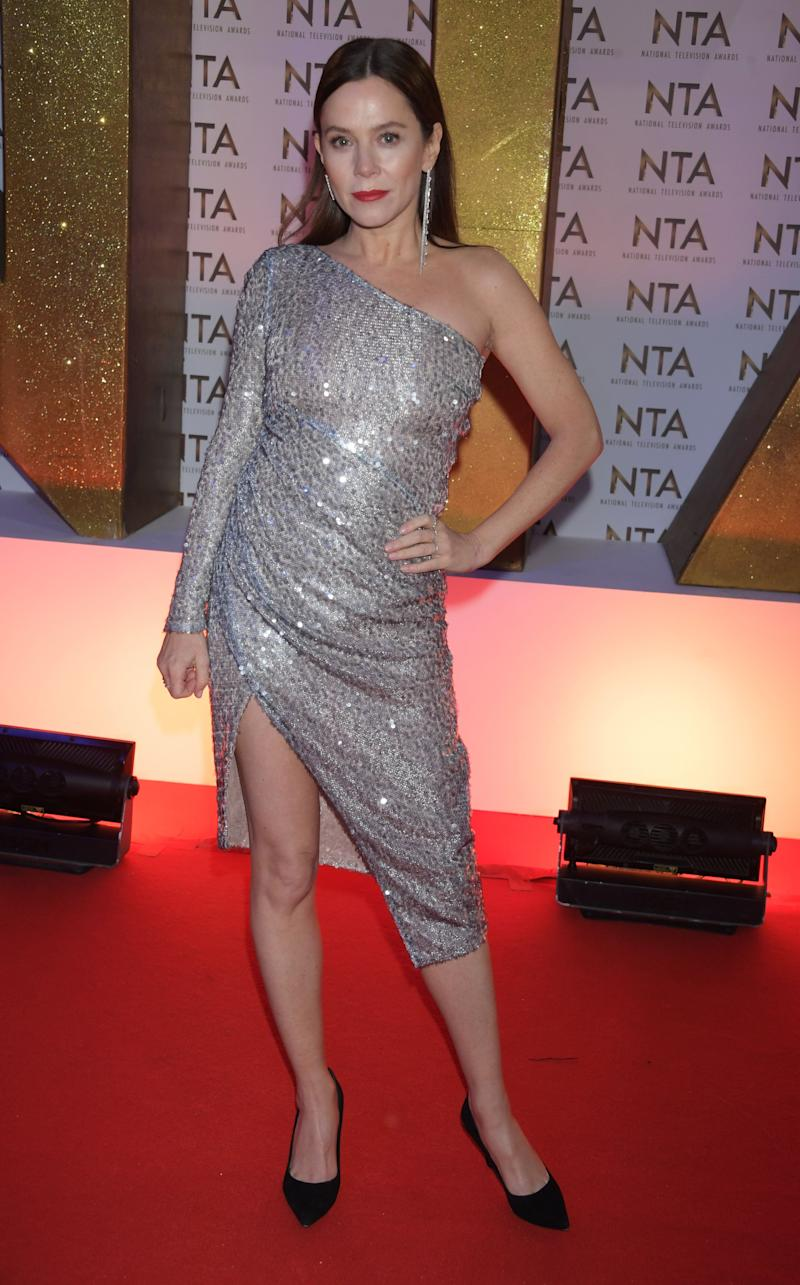 LONDON, ENGLAND - JANUARY 28: Anna Friel attends the National Television Awards 2020 at The O2 Arena on January 28, 2020 in London, England. (Photo by David M. Benett/Dave Benett/Getty Images)