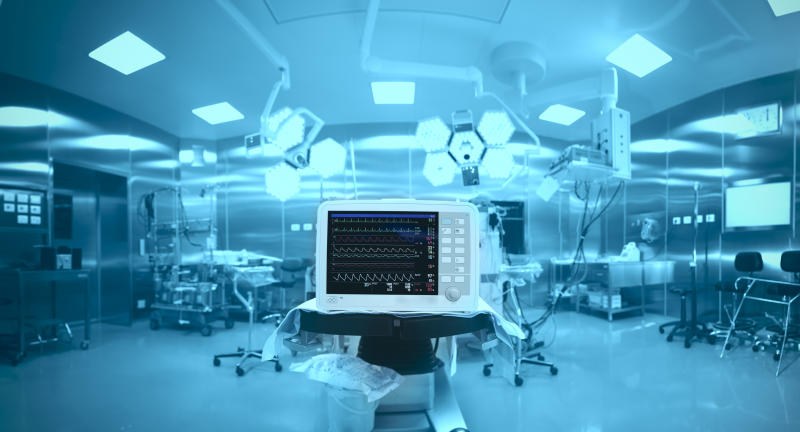Medical devices in a hospital