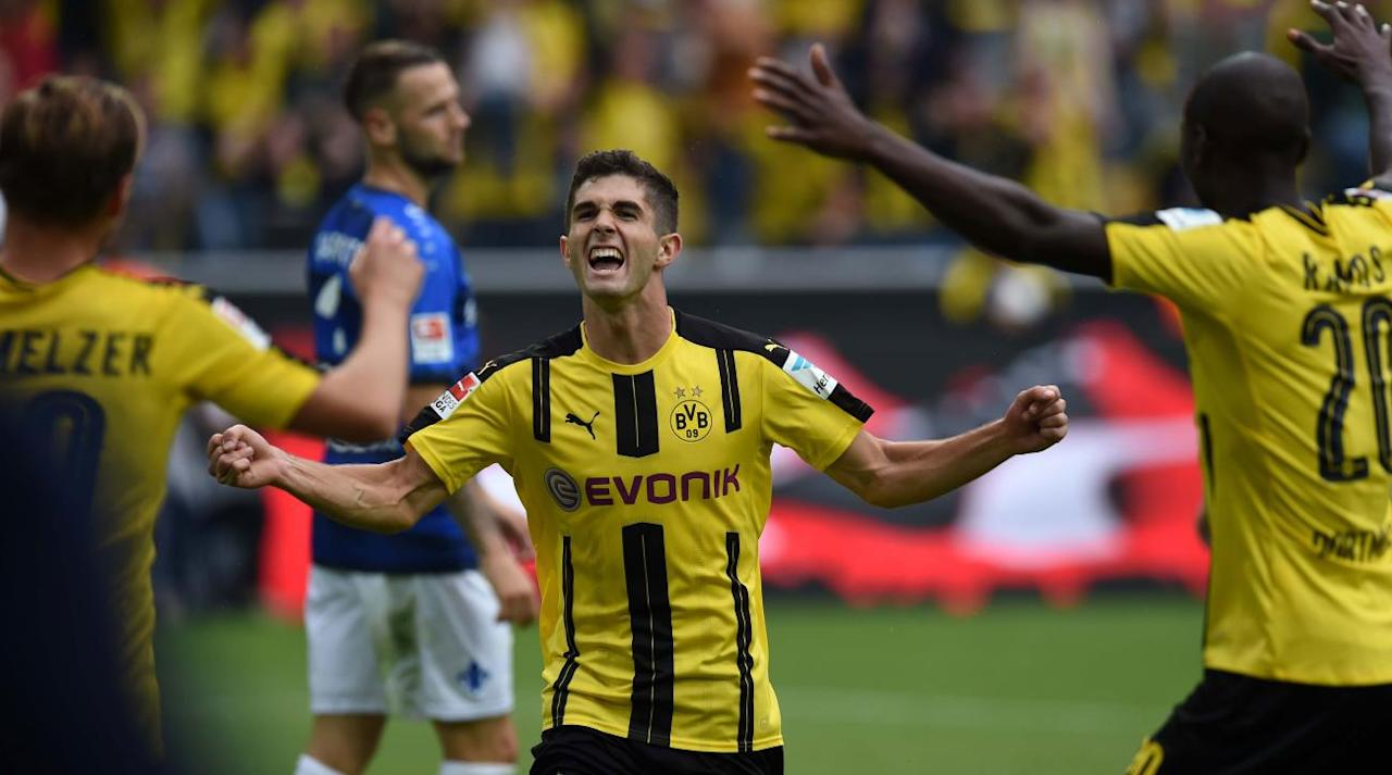 "<p>Christian Pulisic continues to find himself in esteemed company.</p><p>The Borussia Dortmund and U.S. men's national team star was <a rel=""nofollow"" href=""https://www.theguardian.com/football/2017/sep/19/golden-boy-award-rashford-mbappe-dembele"">one of 25 nominees for the Golden Boy Award</a>, an annual honor doled out to the best player under 21 years old in Europe. The award, created in 2003 by Italian outlet <em>Tuttosport</em>, is voted on by 30 journalists and covers play over the course of a calendar year. <a rel=""nofollow"" href=""https://www.si.com/soccer/2017/09/18/christian-pulisic-birthday-19-top-moments-career-dortmund-usa-video"">Pulisic, who turned 19 on Monday</a>, joins the likes of Kylian Mbappe, Ousmane Dembele, Gabriel Jesus, Marcus Rashford and Gianluigi Donnarumma.</p><p>Renato Sanches, who won the award in 2016, is not among the nominees this year. Past winners also include Lionel Messi (2005), Paul Pogba (2013), Anthony Martial (2015) and Mario Balotelli (2010).</p><p>Here are all of the nominees for award, with the winner set to be announced next month: </p><p><em>Jean-Kevin Augustin</em>, RB Leipzig</p><p><em>Rodrigo Bentacur</em>, Juventus</p><p><em>Steven Bergwijn</em>, PSV Eindhoven</p><p><em>Dominic Calvert-Lewin</em>, Everton</p><p><em>Federico Chiesa</em>, Fiorentina</p><p><em>Ousmane Dembélé</em>, Barcelona</p><p><em>Amadou Diawara</em>, Napoli</p><p><em>Kasper Dolberg</em>, Ajax</p><p><em>Gianluigi Donnarumma</em>, AC Milan</p><p><em>Gabriel Jesus</em>, Manchester City</p><p><em>Joe Gomez</em>, Liverpool</p><p><em>Benjamin Henrichs</em>, Bayer Leverkusen</p><p><em>Aaron Martin</em>, Espanyol</p><p><em>Borja Mayoral</em>, Real Madrid</p><p><em>Kylian Mbappé</em>, Paris Saint-Germain </p><p><em>Emre Mor</em>, Celta Vigo</p><p><em>Reece Oxford</em>, Borussia Mönchengladbach</p><p><em>Christian Pulisic</em>, Borussia Dortmund</p><p><em>Marcus Rashford</em>, Manchester United</p><p><em>Allan Saint-Maximim</em>, Nice</p><p><em>Dominic Solanke</em>, Liverpool</p><p><em>Theo Hernández</em>, Real Madrid</p><p><em>Youri Tielemans</em>, Monaco</p><p><em>Enes Unal</em>, Villarreal</p><p><em>Kyle Walker-Peters</em>, Tottenham</p>"