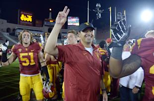 Steve Sarkisian, USC. (Photo: USA Today)