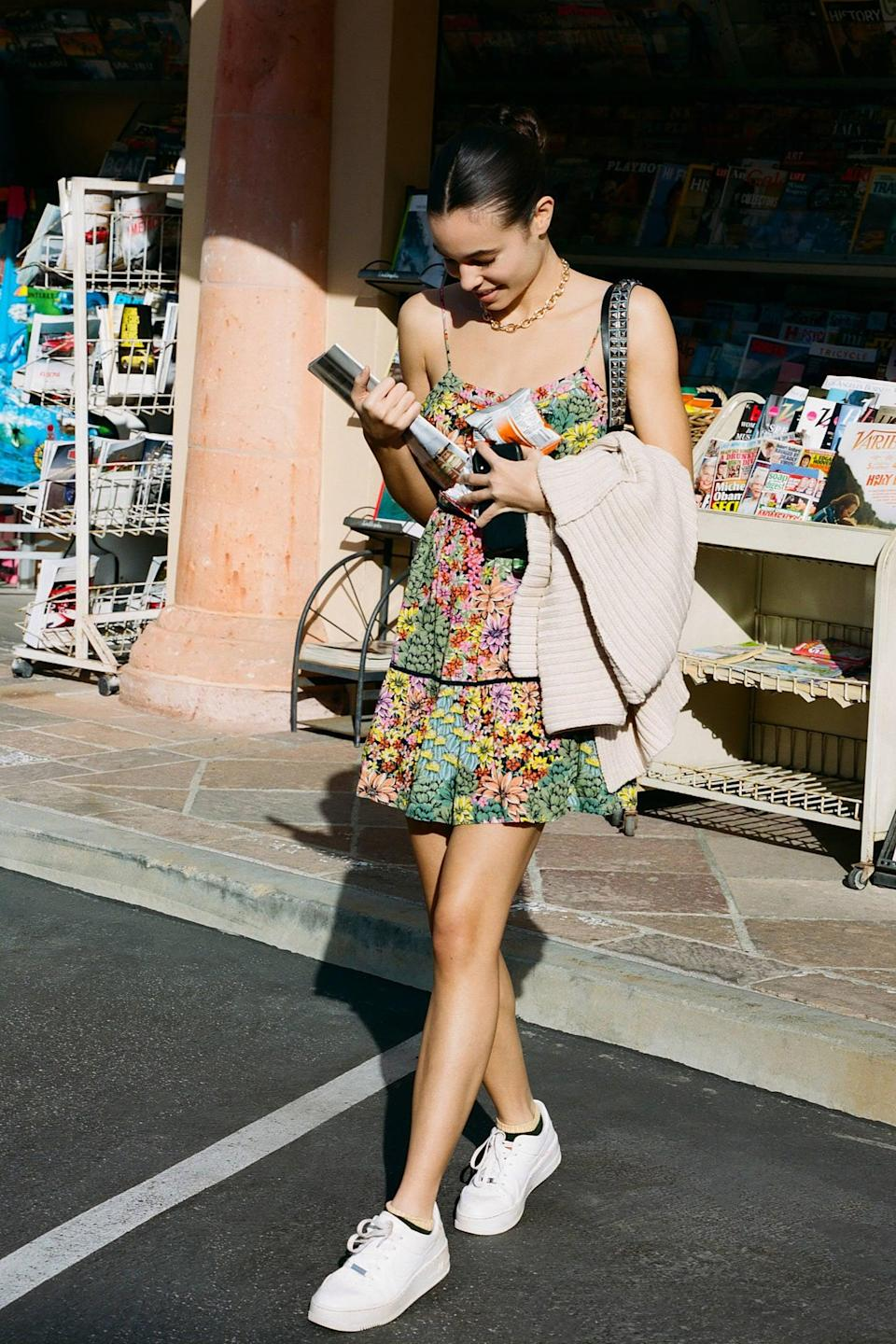 "<p>This <a href=""https://www.popsugar.com/buy/UO-Honey-Tiered-Frock-Mini-Dress-544770?p_name=UO%20Honey%20Tiered%20Frock%20Mini%20Dress&retailer=urbanoutfitters.com&pid=544770&price=59&evar1=fab%3Aus&evar9=45873724&evar98=https%3A%2F%2Fwww.popsugar.com%2Ffashion%2Fphoto-gallery%2F45873724%2Fimage%2F47261783%2FUO-Honey-Tiered-Frock-Mini-Dress&list1=shopping%2Cdresses%2Cspring%2Cflorals%2Cspring%20fashion&prop13=mobile&pdata=1"" class=""link rapid-noclick-resp"" rel=""nofollow noopener"" target=""_blank"" data-ylk=""slk:UO Honey Tiered Frock Mini Dress"">UO Honey Tiered Frock Mini Dress</a> ($59) will be a Spring staple.</p>"