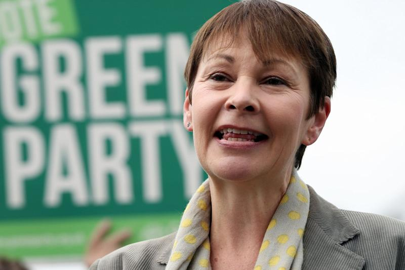 Green party joint leader Caroline Lucas is set to speak at the conference: PA