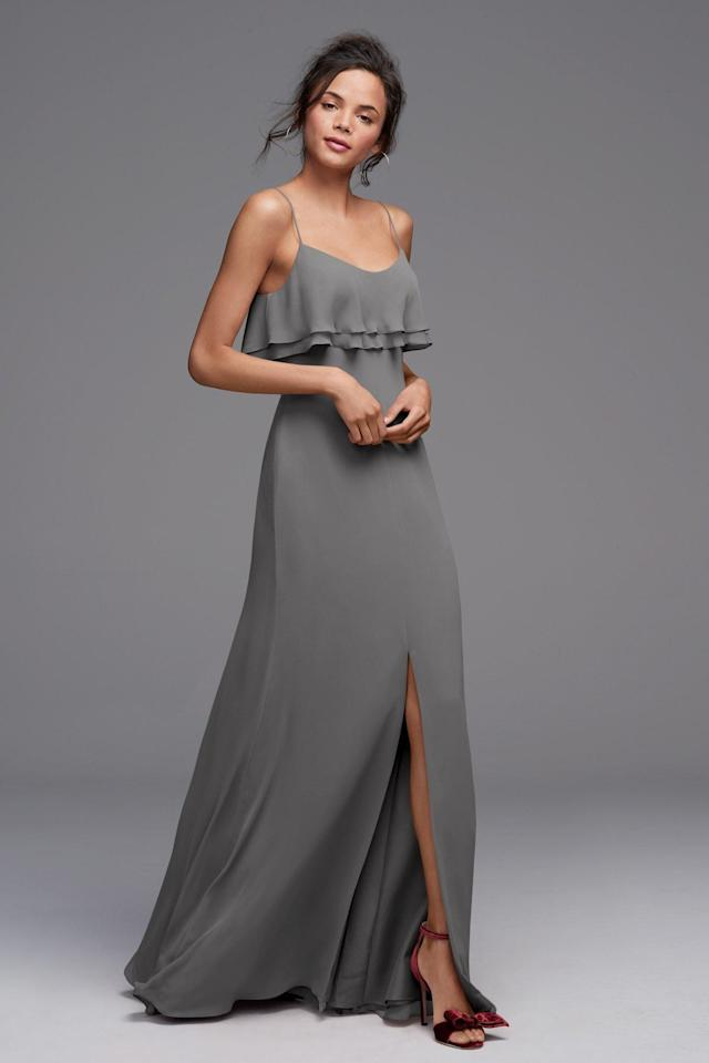 3df471a50685 30 Gray Bridesmaids Dresses Perfect for Any Season