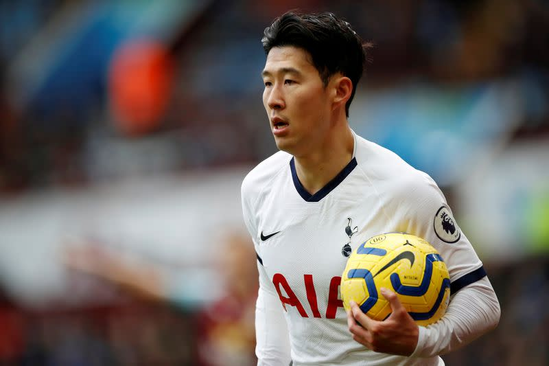 Spurs' Son set for chemical warfare training in South Korea