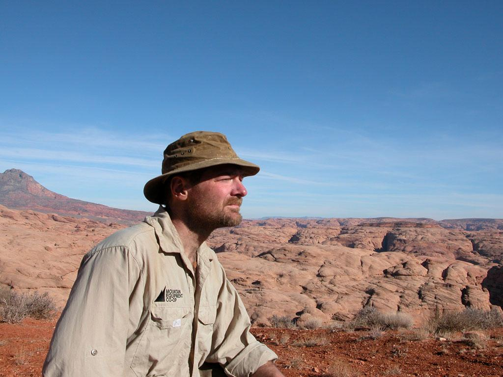 Host Les Stroud in Survivorman.