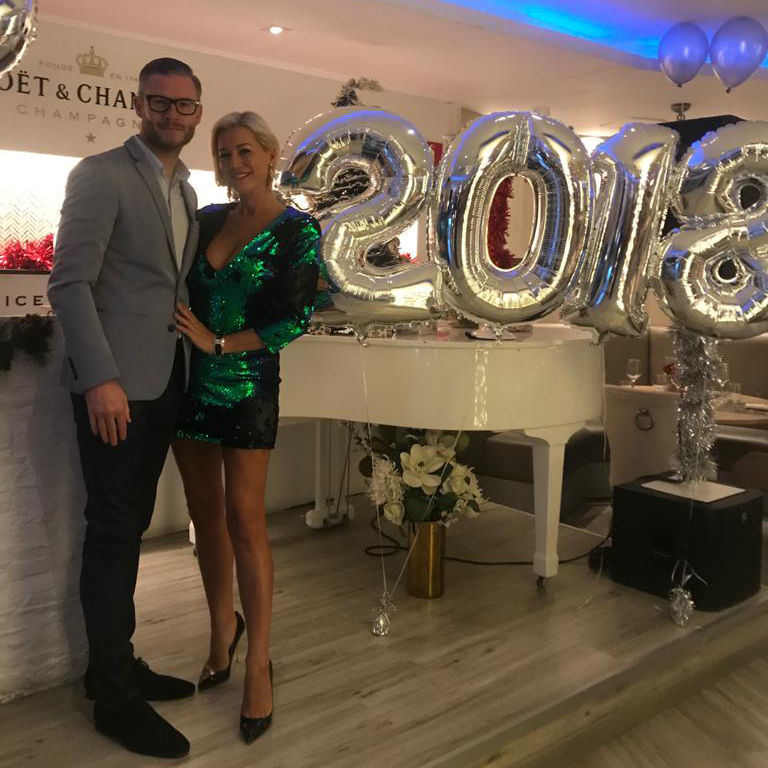 Denise Van Outen was in Spain, seeing in the New Year with boyfriend Eddie Boxshall, when her home in Kent got burgled (Photo: Denise Van Outen)